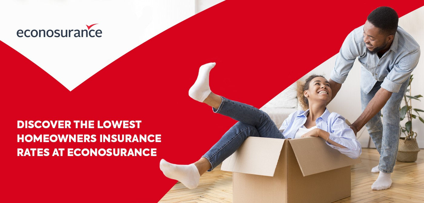 Discover the lowest homeowners insurance rates at econosurance